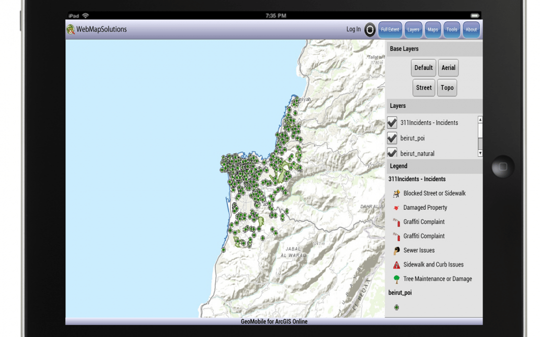 Mobile ArcGIS Online – Video & Audio Feature Attachments