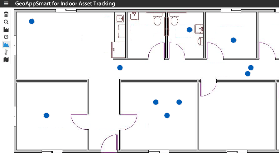 GeoAppSmart for Indoor Asset Tracking