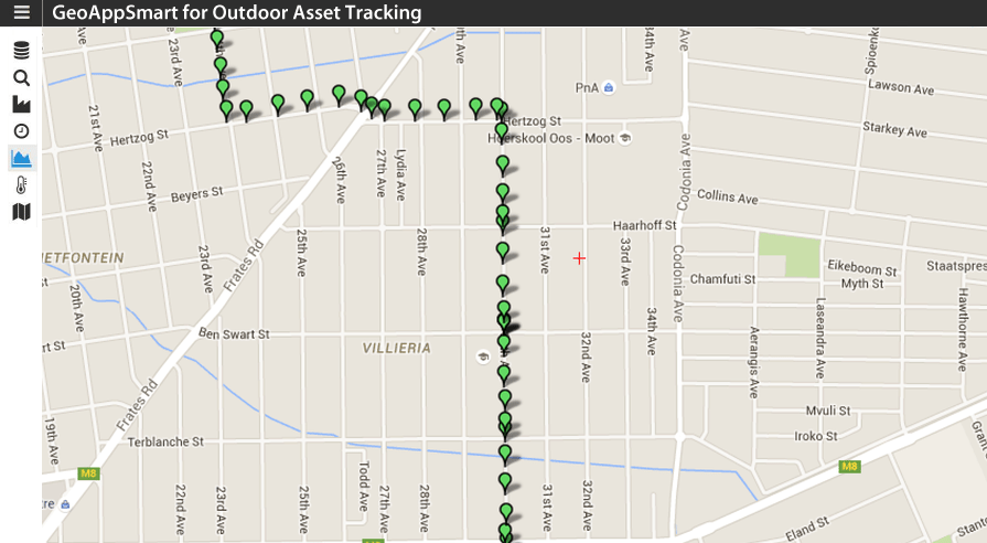 GeoAppSmart for Outdoor Asset Tracking